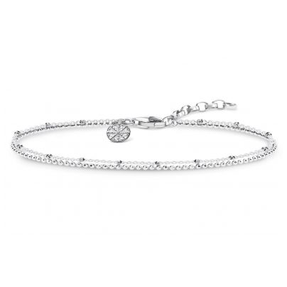 Thomas Sabo KA0004-001-21 Ladies Bracelet Karma Wheel 4051245315134