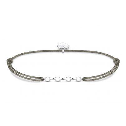Thomas Sabo LS047-173-5-L20v Charm-Armband Little Secret Grau 4051245352740