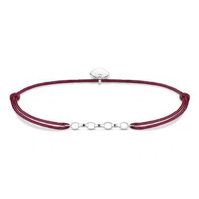 Thomas Sabo LS051-173-10-L20v Charm-Armband Little Secret Rot 4051245352788