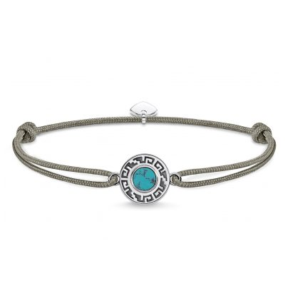 Thomas Sabo LS061-504-5 Armband Little Secret Ornament Türkis 4051245376531