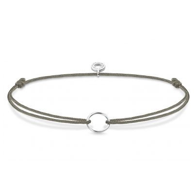 Thomas Sabo LS066-173-5 Charm-Armband Little Secret Grau 4051245375732
