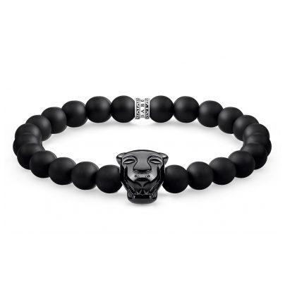 Thomas Sabo A1777-916-11 Unisex-Armband Black Cat Onyx