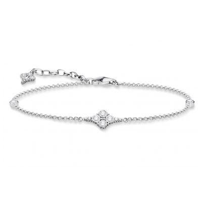 Thomas Sabo A1824-643-14-L19v Damen-Armband Royalty Weiß 4051245397567