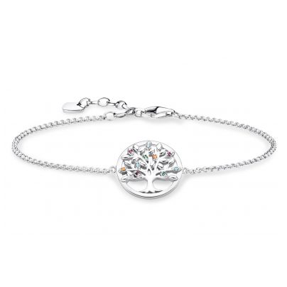 Thomas Sabo A1868-477-7-L19v Damenarmband Tree of Love 4051245432909