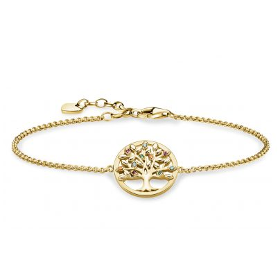 Thomas Sabo A1868-488-7-L19v Damenarmband Tree of Love 4051245433333