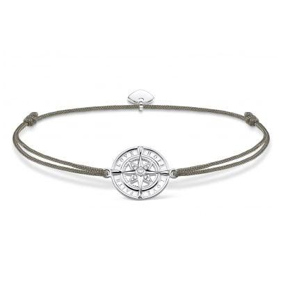 Thomas Sabo LS078-401-5-L20v Bracelet Little Secret Compass Faith, Love, Hope 4051245432565