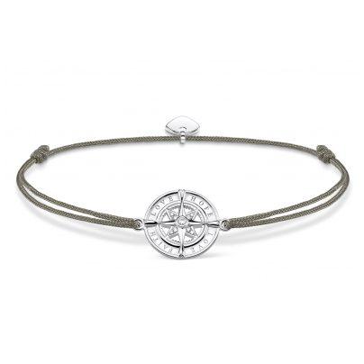 Thomas Sabo LS078-401-5-L20v Armband Little Secret Kompass Glaube, Liebe, Hoffnung 4051245432565
