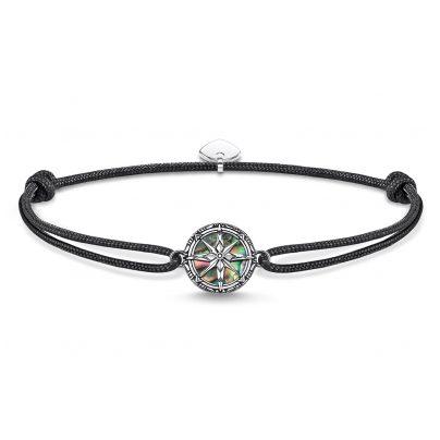 Thomas Sabo LS085-907-11-L22v Unisex-Armband Little Secret Kompass Abalone-Perlmut 4051245432657