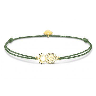 Thomas Sabo LS110-413-6-L20v Damen-Armband Little Secret Ananas 4051245481235