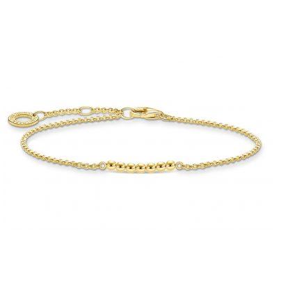 Thomas Sabo A2001-413-39-L19v Armband für Damen goldfarben 4051245487732