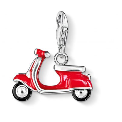 Thomas Sabo 0827-007-10 Charm-Anhänger Roter Roller 4051245049077