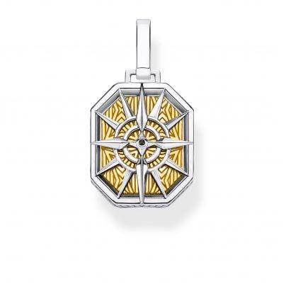 Thomas Sabo PE867-849-7 Pendant Compass gold-coloured 4051245450095