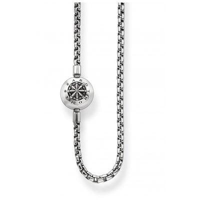 Thomas Sabo KK0002-001-12 Halskette geschwärzt für Karma Beads