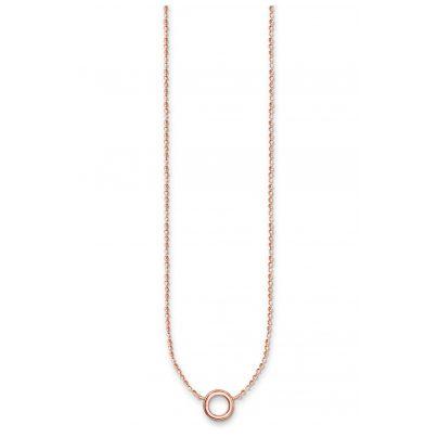 Thomas Sabo X0240-415-40-L45v Damen-Halskette für Charms Rosé 4051245352801