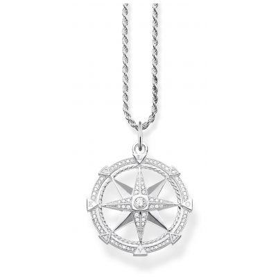 Thomas Sabo KE1850-051-14-L45 Damen-Halskette Kompass 4051245430868