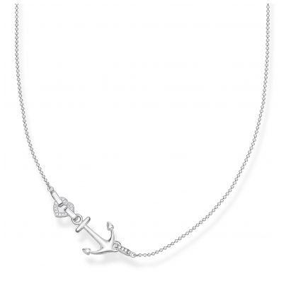 Thomas Sabo KE1851-051-14-L45v Ladies´ Necklace Anchor with Heart 4051245430875