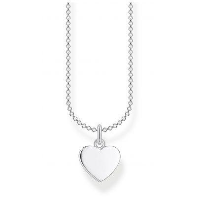 Thomas Sabo KE2048-001-21-L45v Silberhalskette für Damen Herz 4051245488241