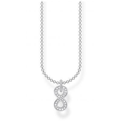 Thomas Sabo KE2067-051-14-L45v Silber-Halskette Unendlichkeit 4051245488470