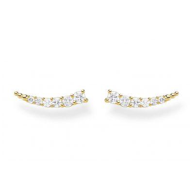 Thomas Sabo H2158-414-14 Ohrringe für Damen goldfarben 4051245491357