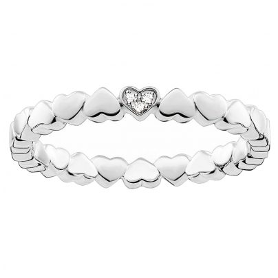 Thomas Sabo D_TR0013-725-14 Ladies Ring Hearts
