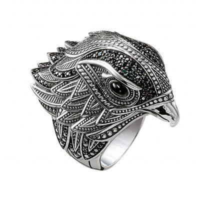 Thomas Sabo TR2066-641-11 Silver Ring Falcon