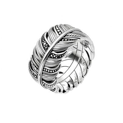 Thomas Sabo TR2159-643-11 Ring Feather Pave