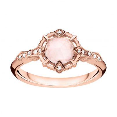 Thomas Sabo D_TR0043-925-26 Damen-Ring Vintage Rosa