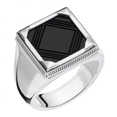 Thomas Sabo TR2211-698-11 Herren-Ring Onyx