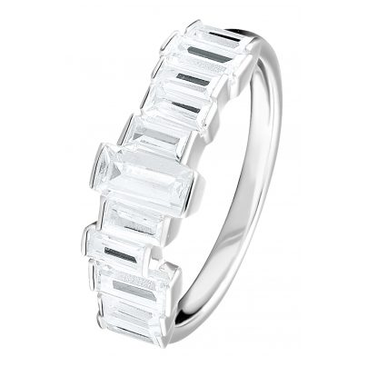 Thomas Sabo TR2269-051-14 Silber Damenring Weiße Steine