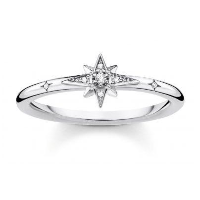Thomas Sabo TR2317-051-14 Silberring für Damen Stern