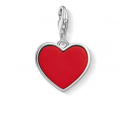 Thomas Sabo 1471-337-10 Charm-Anhänger Rotes Herz 4051245320121