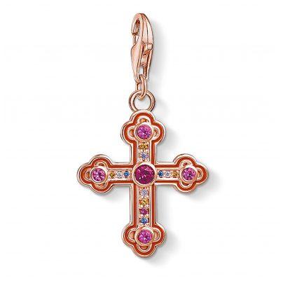 Thomas Sabo 1495-392-10 Charm-Anhänger Viktorianisches Kreuz 4051245353891