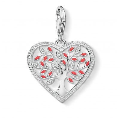 Thomas Sabo 1504-041-27 Charm-Anhänger Tree of Love Herz 4051245353983