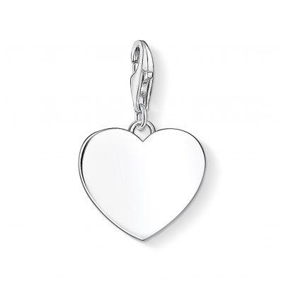 Thomas Sabo 1634-001-21 Charm Pendant Heart Silver 4051245374285