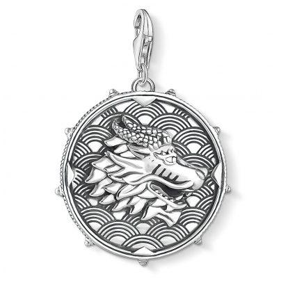 Thomas Sabo 1699-637-21 Charm-Anhänger Coin Drache & Tiger 4051245403312