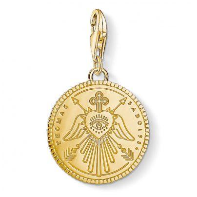 Thomas Sabo 1705-413-39 Charm-Anhänger Coin 4051245403480
