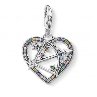 Thomas Sabo 1822-318-7 Charm Pendant Cupid's Arrow Silver 4051245456585