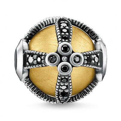 Thomas Sabo K0306-849-11 Bead Royalty Gold 4051245401486