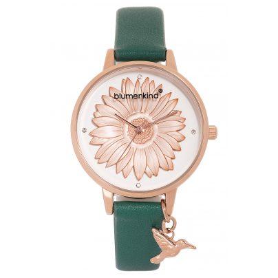 Blumenkind 04091981RWHPGN Damenarmbanduhr Rosé/Grün 9120044243506