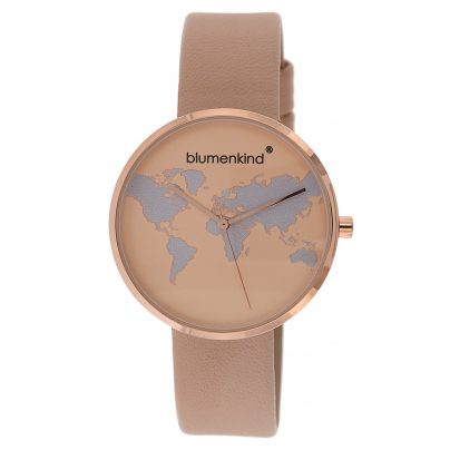 Blumenkind BKU1RPSA Ladies' Watch Globetrotter rose 9120044230933