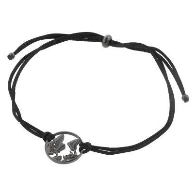 Blumenkind WBB01GR Damen-Armband Weltenbummler Grau 9120044249331