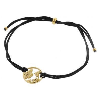 Blumenkind WBB01GO Damen-Armband Weltenbummler Goldfarben 9120044249324