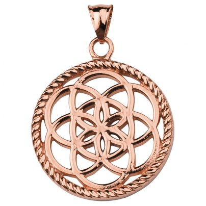 Traumfänger TF02MRO Dreamcatcher Pendant Flower Rose M 9120044235846