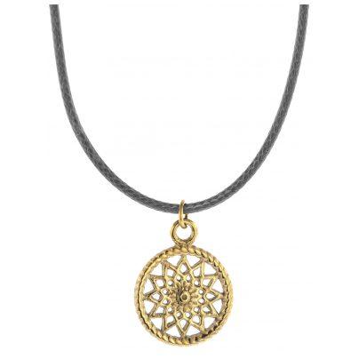 Traumfänger TFP01GOGR Damen-Halskette Petit grau/gold 9120044241182