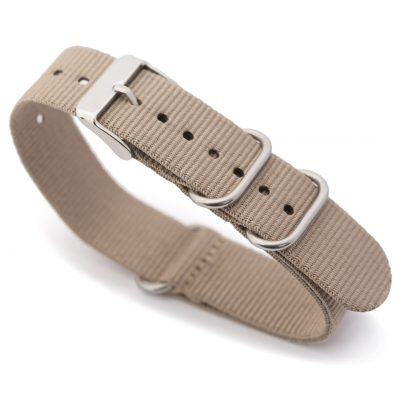 svalbard NS17 Nato Watch Strap Beige 5060380324955