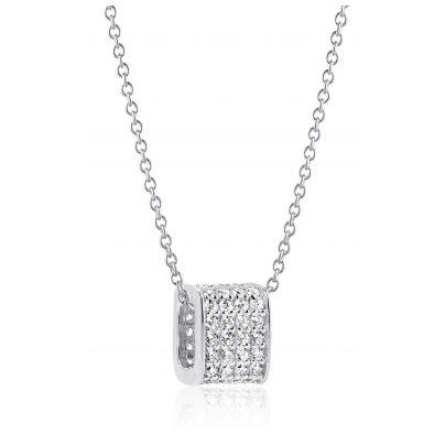 Sif Jakobs Jewellery SJ-P1034-CZ/45 Silber-Halskette für Damen Matera 5710698055484