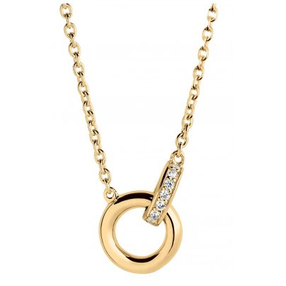 Sif Jakobs Jewellery SJ-C0030-CZ-YG Necklace Itri Piccolo 5710698067432