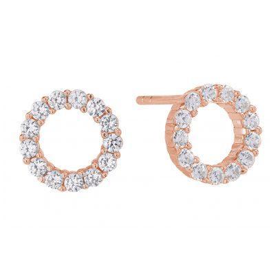 Sif Jakobs Jewellery SJ-E337-CZ(RG) Ohrringe Biella Uno Piccolo Rosé 5710698025685