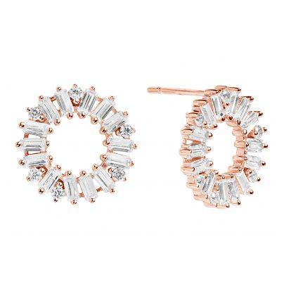 Sif Jakobs Jewellery SJ-E0324-CZ(RG) Ohrringe Antella Circolo Rosé 5710698047779