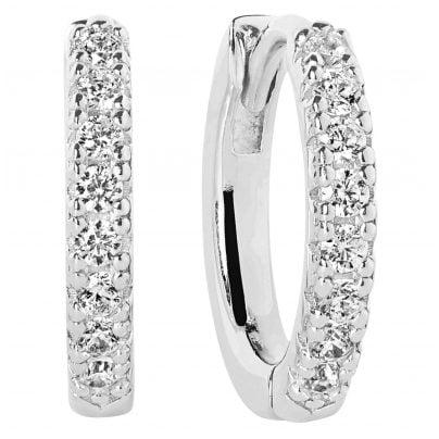 Sif Jakobs Jewellery SJ-E2859-CZ Ohrringe Creolen Ellera Silberfarben 5710698061454